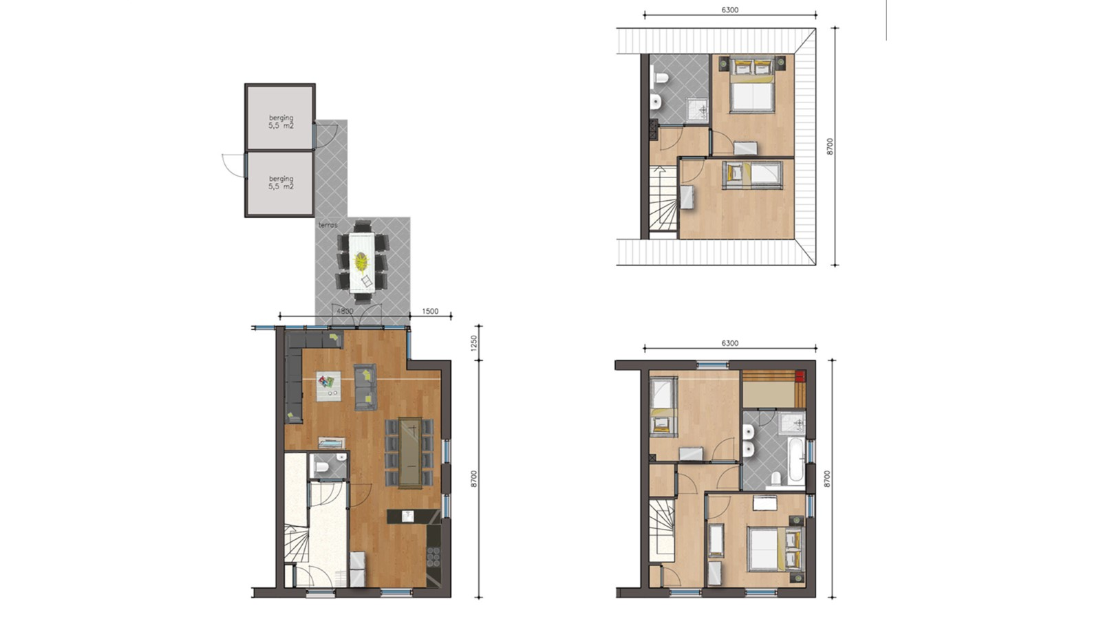 Herenhuis luxury Kids - 4 bedrooms