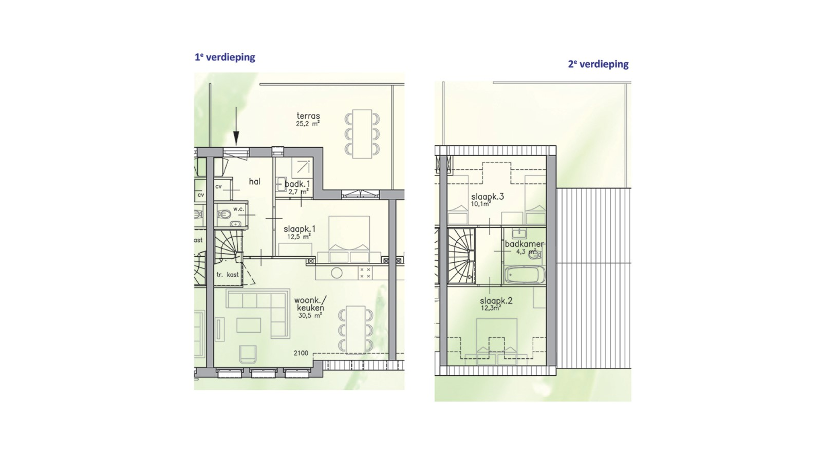 Lifestyle apartment - 3 bedrooms