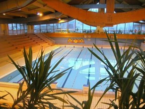 Indoor swimming pool at Dormio Resort Berck-sur-Mer