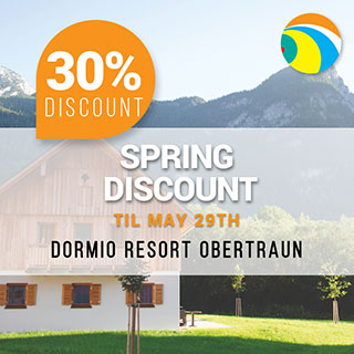 Dormio Resort Obertraun spring discount 2019