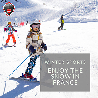 Enjoy your winter sports in France
